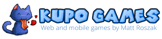 Kupo Games: Web and mobile games by Matt Roszak