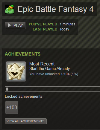 Steam achieve